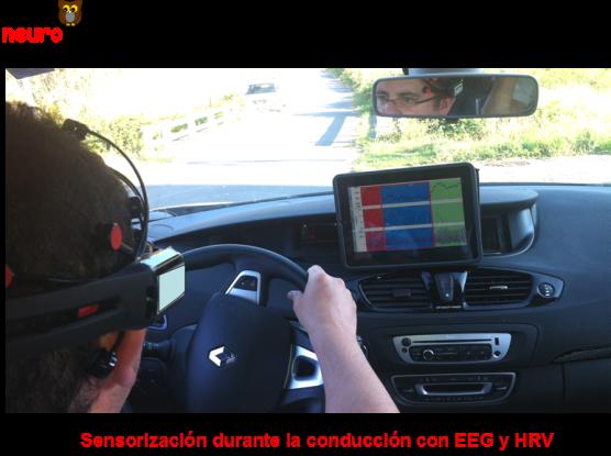 Driving stress sensor