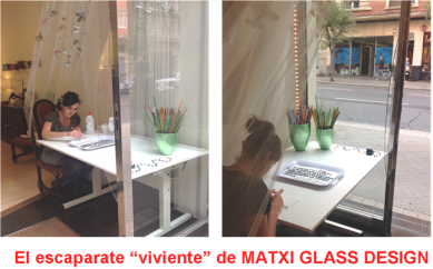Escaparate Viviente de Matxi Glass Design