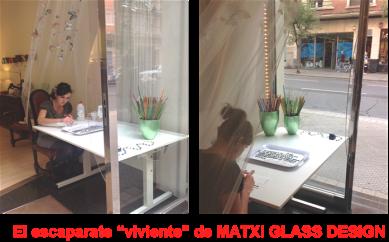 Escaparate Viviente de Matxi Glass Design