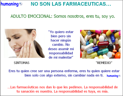 NO SON LAS FARMACEUTICAS