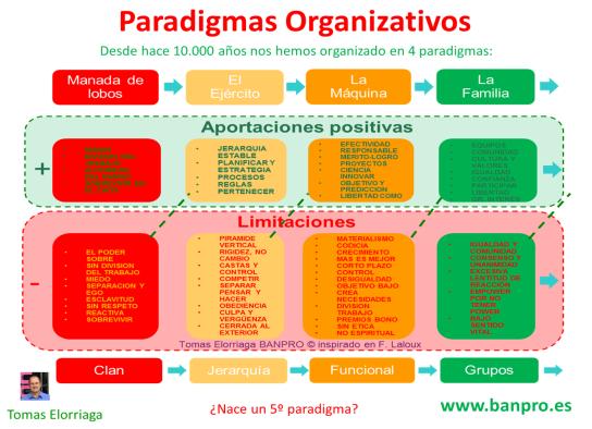 el 5 paradigma organizativo